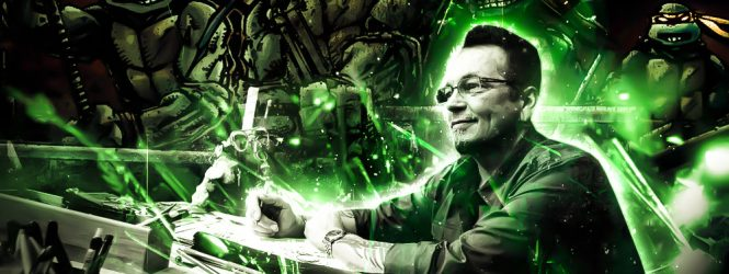 Kevin Eastman 'Grey Wolf' Interview
