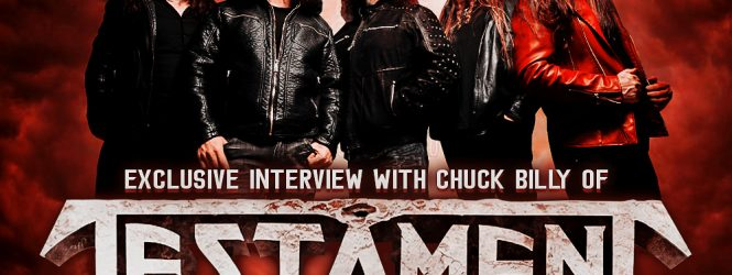 Chuck Billy (Testament) Interview