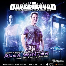 Alex Winter (Bill and Ted 3 – Face the Music)