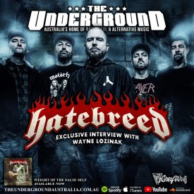 Wayne Lozinak (Hatebreed) November 2020