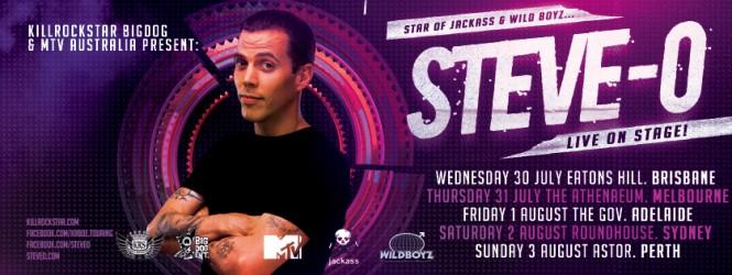 Steve-O Australian Tour