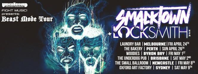 Smack Town/Lock Smith April Tour