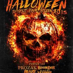 Halloween to Split Your Spleen 2015