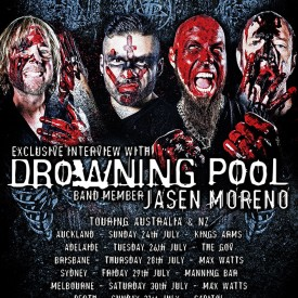 Jasen Moreno (Drowning Pool) – March 2016