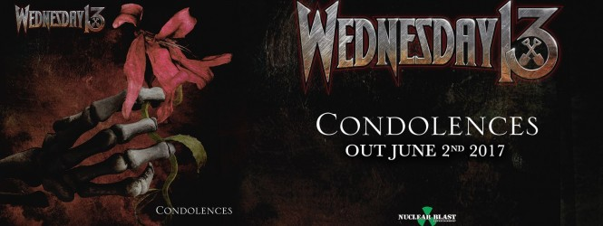 """Wednesday 13 – Condolences & """"What The Night Brings"""" Video!"""