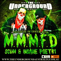Scum & Insane Poetry (MMMFD) March 2nd 2019