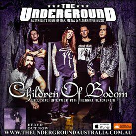 Henkka Blacksmith (Children of Bodom) April 2019