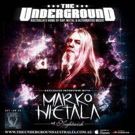 Marko Hietala (Nightwish) December 27th 2019