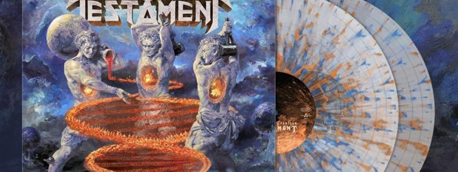 "Testament ""Titles of Creation"" Vinyl"