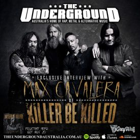 Max Cavalera (Killer Be Killed) November 10th