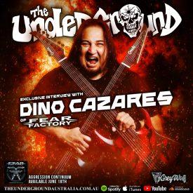 Dino Cazares (Fear Factory) May 2021