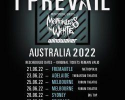 I Prevail reschedule Australian Tour